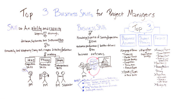what business skills do project managers need?
