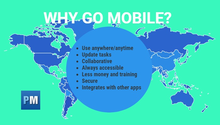 reasons to use mobile project management