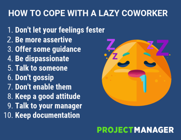 10 Ways To Cope With A Lazy Coworker