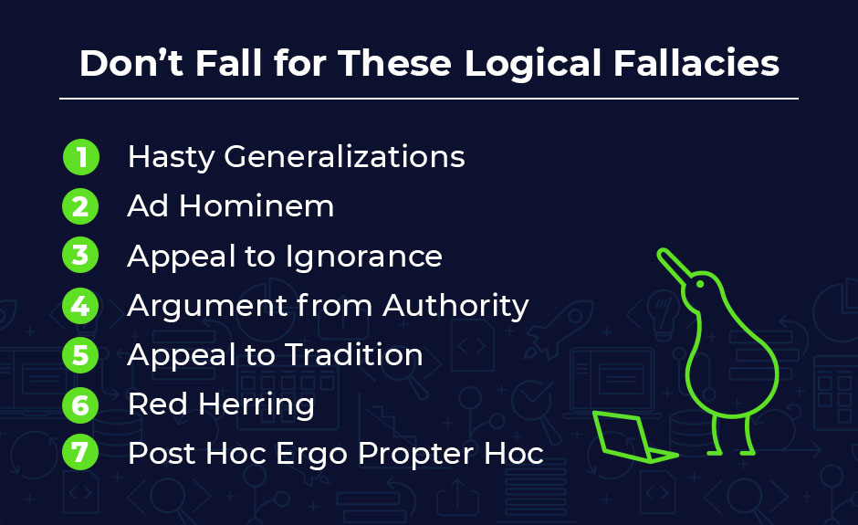 7 Logical Fallacies That Can Harm Your Decision Making With Examples