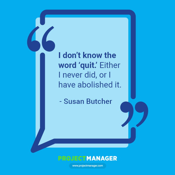 Susan butcher business quote