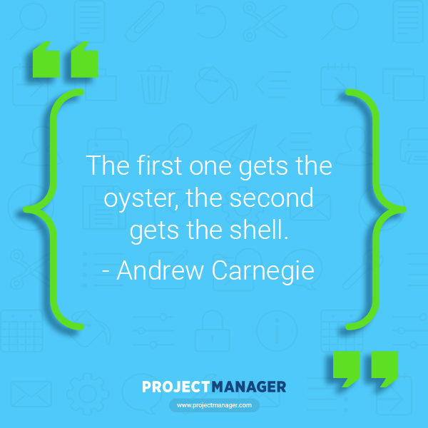 Andrew Carnegie business quote
