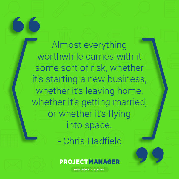 Chris Hadfield business quote