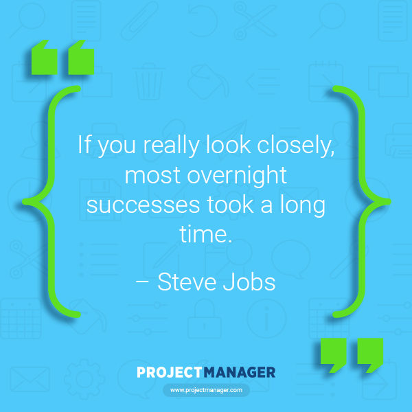 Steve Jobs business quote