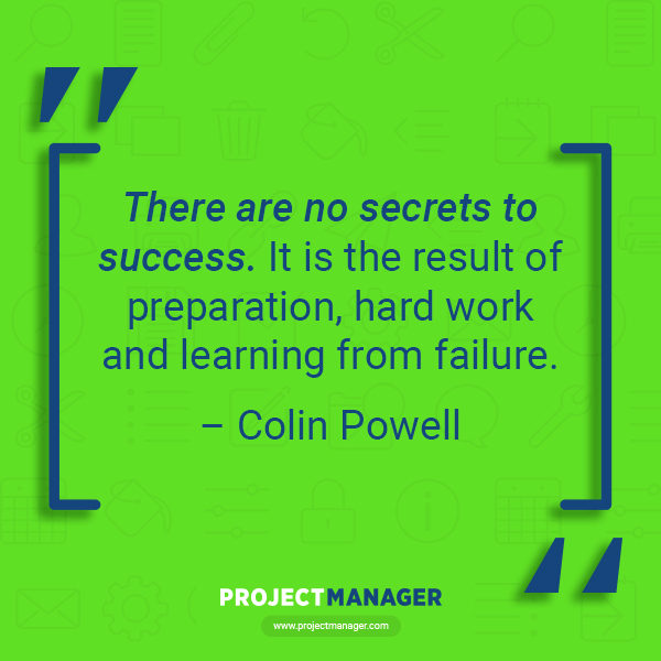 Colin Powell business quote